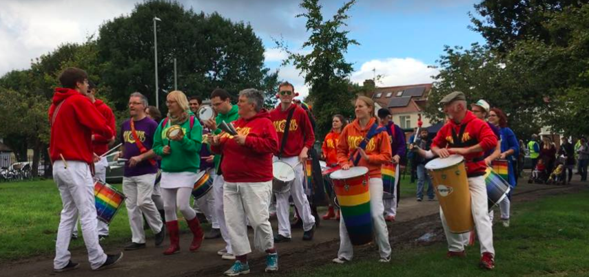 Arco Iris start the Festival in stlyle