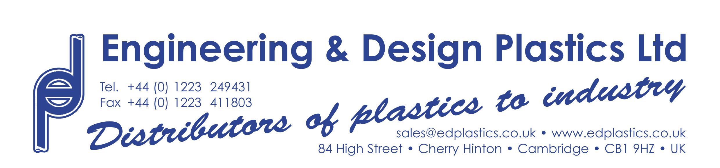 Cambridge Engineering and Design Plastics