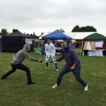 Cambridge Fencing Club teaching a fencing  skills