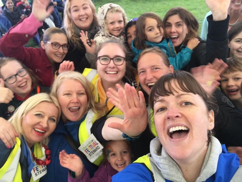 Stewards flashmob selfie!