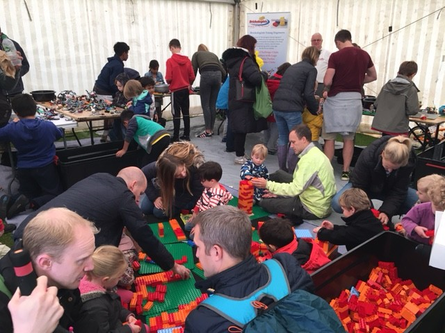 Lego fun with the Brickologists