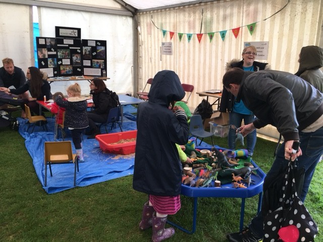 Romsey Mill in the Children's Marquee