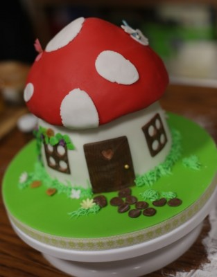 Craft party 2015 cake